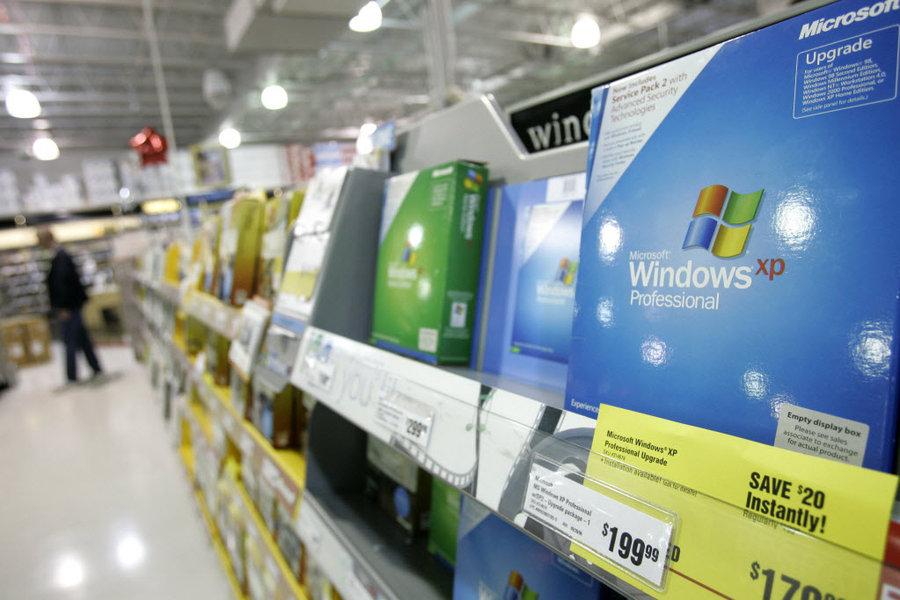 На Windows XP все ще працюють понад 25 мільйонів комп'ютерів